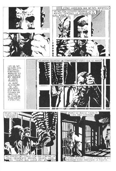 Mort Cinder en la penitenciaria