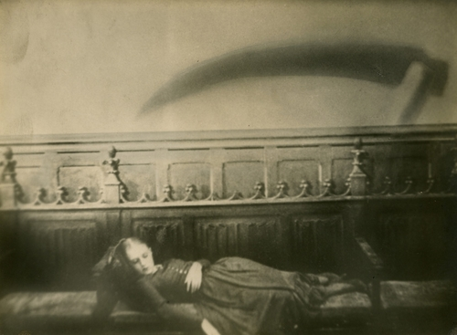 Fotograma de la película Vampyr de Carl Theodor Dreyer, basada en Carmilla de J. S. Le Fanu