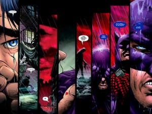 Batman #678, pp 22-23. Clic para ampliar