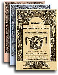 Un facsímil de la edición de John Bowle, 1781