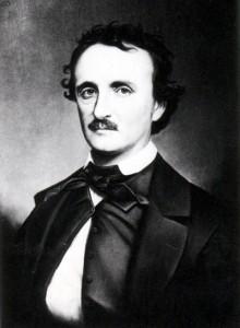 Retrato de Poe por Oscar Halling, copiado del daguerrotipo «Thompson», uno de los últimos retratos del escritor (1849)
