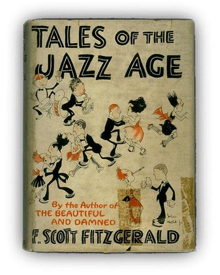 Portada de una edición de Cuentos de la era del jazz