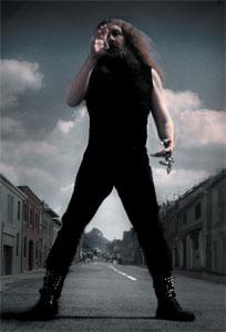 Alan Moore. Foto de José Villarrubia