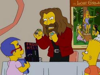 Alan Moore en Los Simpson