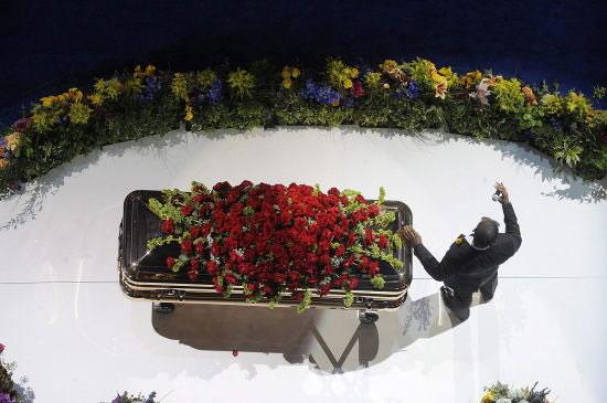 Funeral de Michael Jackson. (Foto: agencia EFE)