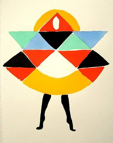 Una pintura de Sonia Delaunay