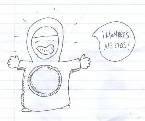 Por si alguien se acuerda, ésta es la Sor Juana en versión chibi