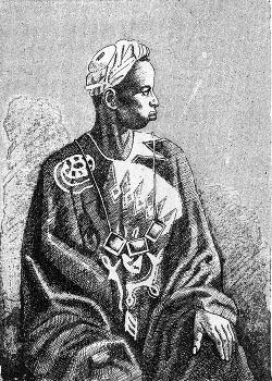 Griot senegalés. 1890