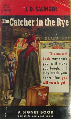 Portada de The Catcher in the Rye