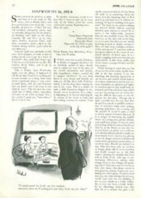 La primera página del cuento en la edición original