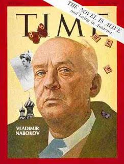 Nabokov en la portada de la revista TIME
