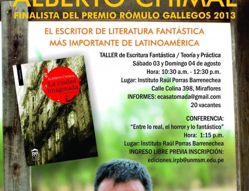 Vámonos a Lima: taller, conferencia y La ciudad imaginada
