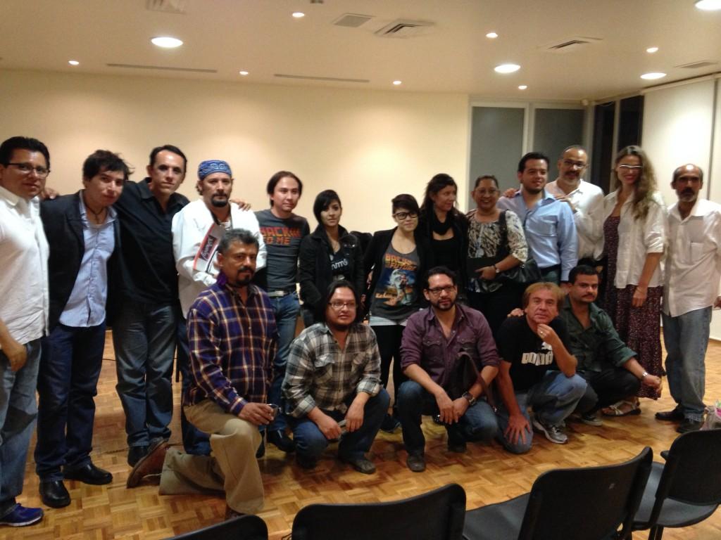 Algunos de los participantes en el Encuentro