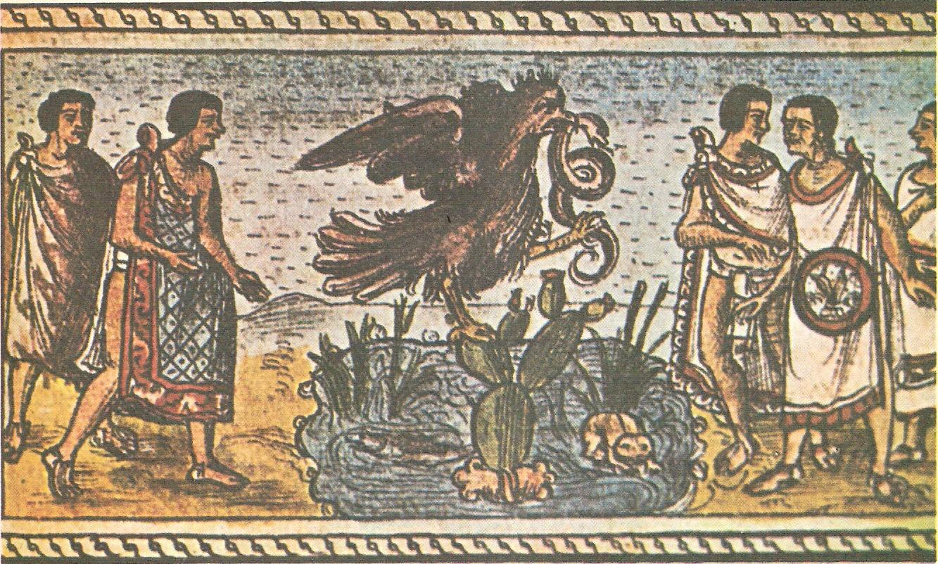 Fundacion de la Ciudad de México-Tenochtitlan (Extracto del Codice Durán)