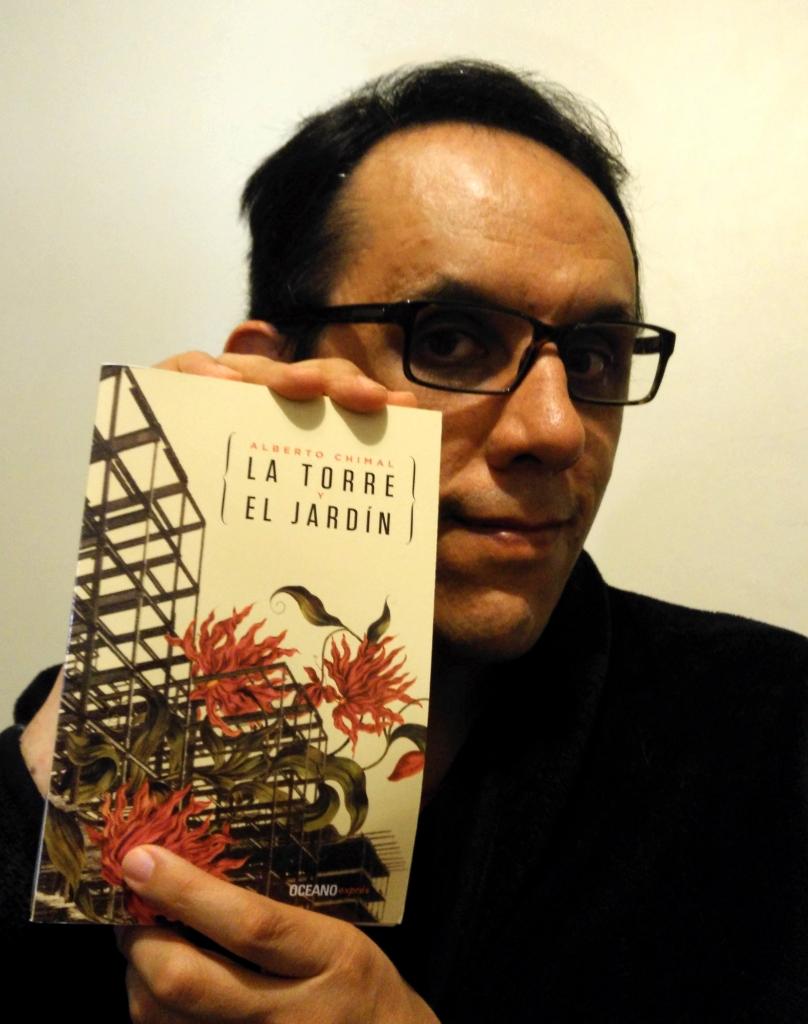 """La edición de bolsillo de """"La torre y el jardín"""" y lo que queda de su autor."""