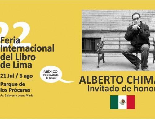 Invitación: #LimaFicción y mucho más en la Feria del Libro de Lima