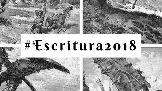 #Escritura2018: empezar por la mitad